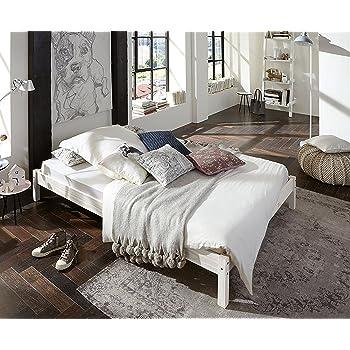 ikea bettgestell fjellse bett in 140x200 cm aus massiver unbehandelter kiefer. Black Bedroom Furniture Sets. Home Design Ideas
