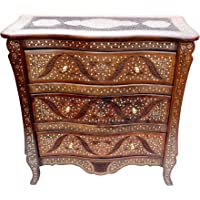 Unique Wood Store Solid Sheesham Wood Multipurpose Chest of Drawers for Home Office Living Room Wooden Storage Floor…