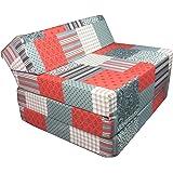 Matelas lit fauteuil futon pliable pliant choix des couleurs - longueur 200 cm (004)