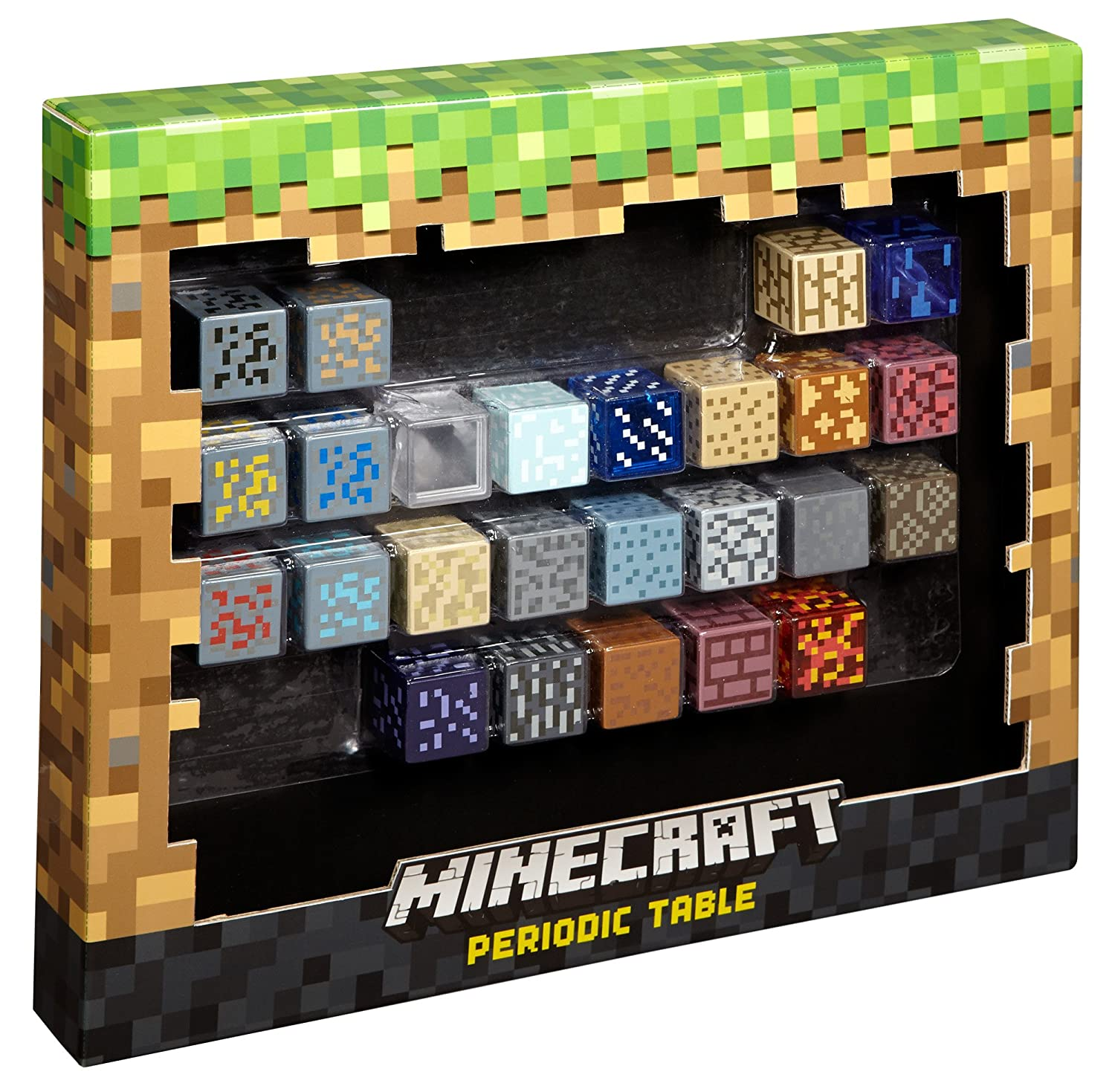 Minecraft periodic table of elements amazon toys games urtaz Image collections