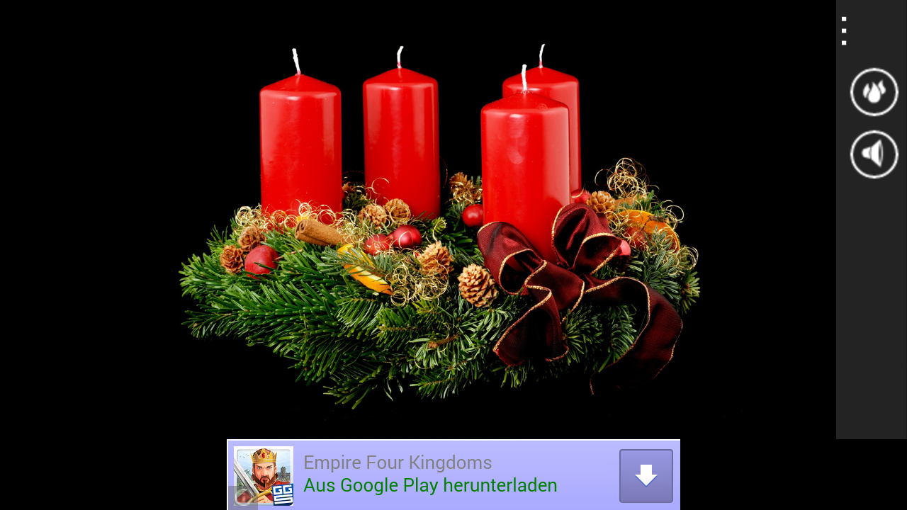 Adventskranz apps f r android for Adventskranz englisch