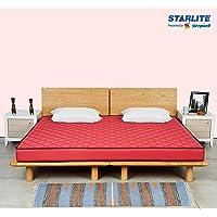 Sleepwell-Splendor_5 Starlite Splendor Medium Firm Foam Mattress (72x72x5), Maroon