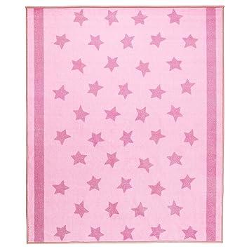 Kinderteppich sterne rosa  IKEA Kinder Teppich Sterne 133x160 cm in drei Farben (Rosa ...