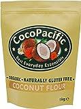 CocoPacific - Farine de noix de coco bio, 1 kg
