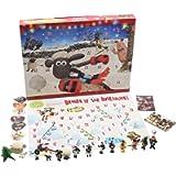 Shaun the Sheep Calendario Avvento per Bambini Wallace e Gromit Cartoni Animati Include Puzzle Gioco da Tavolo…