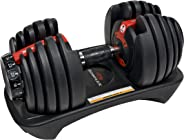 Bowflex 552I Selecttech Dumbbell - Black/ Grey (Single piece)