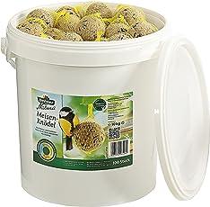 Dehner Natura Wildvogelfutter, Meisenknödel, ohne Netz, 100 Stück (10 kg)