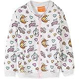 Skye Everest - Sudadera de algodón con cremallera completa, para niñas de 3 a 9 años, color gris