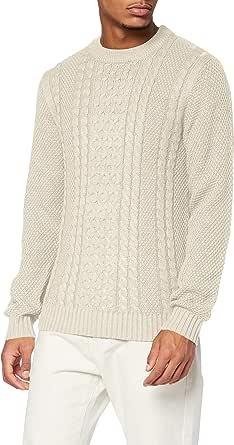 Jack & Jones Men's Jjkim Knit Crew Neck Sweater