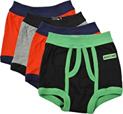 BODYCARE Pure Cotton Multi-Coloured Trunk for Boys & Kids (333-Packof4)