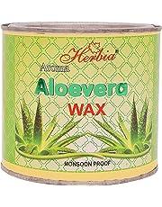 Herbia Aroma Aloe Vera Wax with 30 Waxing Strips- 600 ml