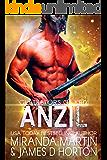 Anzil: A SciFi Alien Romance (Gladiators of Krix) (English Edition)