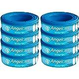 Angelcare, 8-pack, original påfyllningskassetter för Angelcare Comfort Plus blöjhink