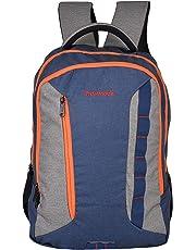 Dunnock Hashtag Laptop Backpack, 25 Litre (Grey/Blue)