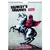 Banksy's Graffiti 2021 A3 Poster Calendar: Original BrownTrout-Kalender