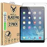 Displayschutzfolie/Panzerglasfolie für iPad Air, Air 1, Air 2, iPad Pro 9.7 [2 Stück] Gehärtetes iPad 2018 Panzerglas 9H…