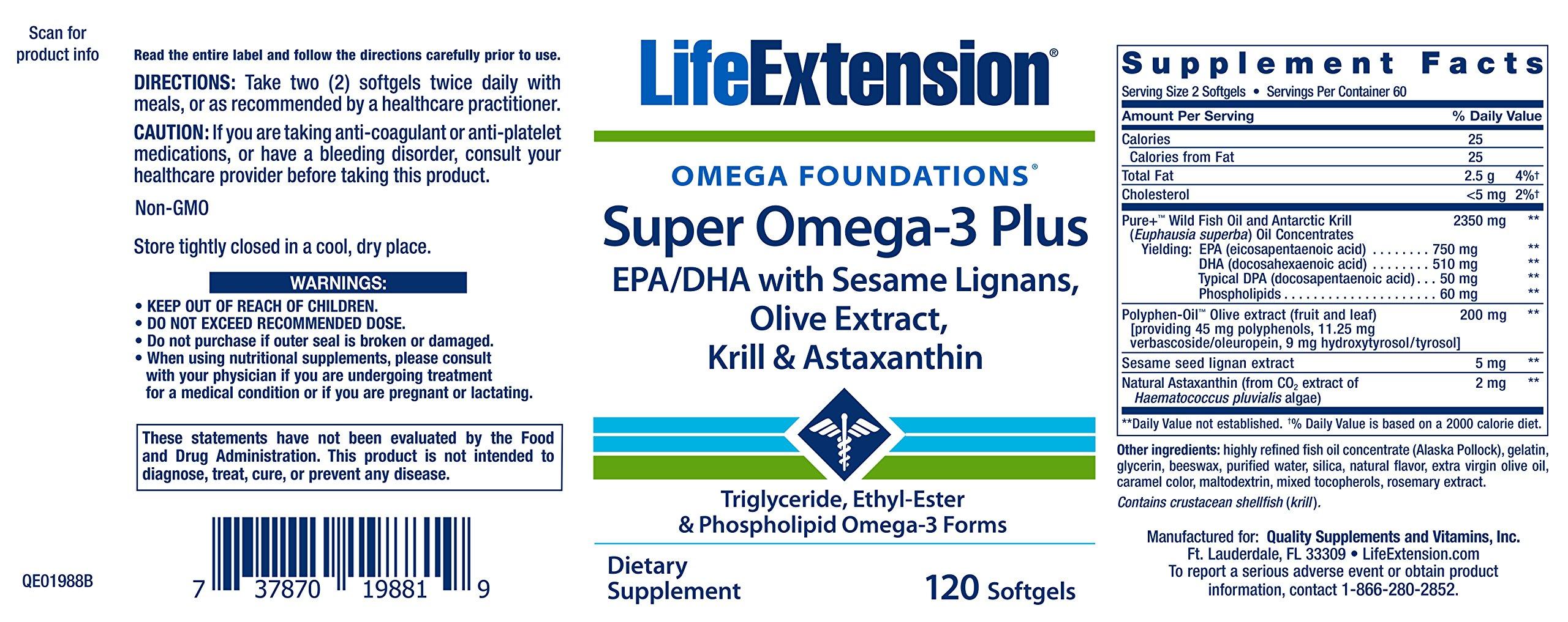 91aFLoHo6AL - Super Omega-3 Plus 120 Softgels