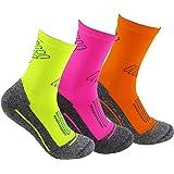 Calcetines deportivos (3 pares) SIN COSTURAS de alto rendimiento para hombre o mujer. Ideales para deportes como running, cro
