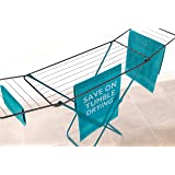 Beldray LA023810TQ Clothing Garment Airer, 18 Metre Drying Space, Holds up to 10
