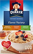 Quaker Instant Oatmeal Variety Pack 15.10oz (430g)