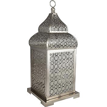 Orientalische indische marokko eisenlampe yagmur for Orientalische laterne silber