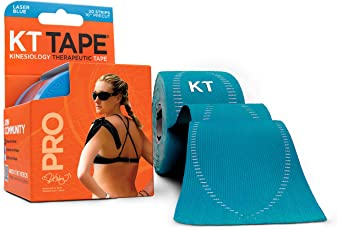 KT Tape PRO Elastic Kinesiology Therapeutic Tape -Laser Blue