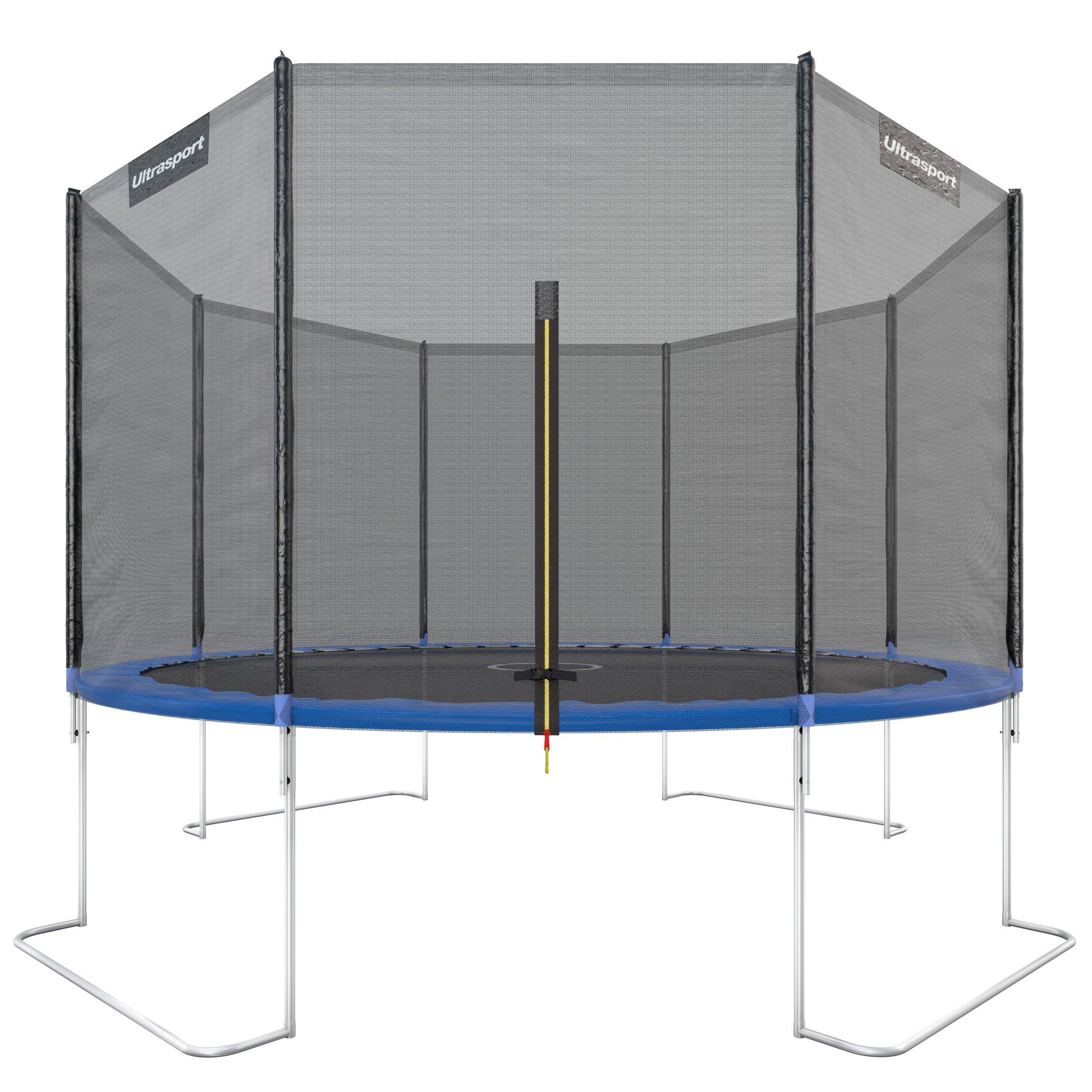 Ultrasport Sicherheitsnetz Garten Trampolin Ultrasport Jumper Wave Grün 430cm
