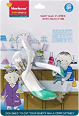 Baby Dreams MBD Baby Nail Clipper With Magnifier (Green)