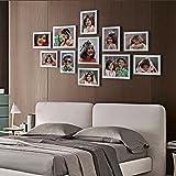 Ajanta Royal Classic Set Of 11 Individual Photo Frames (8-6X8 & 3-8X10) : A-78C (White)