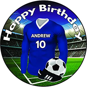 Other Baking Accessories Baking Accs. & Cake Decorating Precut Birthday Football Shirts Cake Toppers Decorations Sunderland Colours