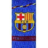 SETINO FC Barcelona - Toalla de playa (70 x 140 cm), diseño del FC Barcelona