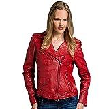 Urban Leather Perfecto Giacca da Moto Donna Donna