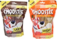 Choostix Combo of Lamb Treat, 450g & Chicken Treat, 450g