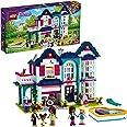 LEGO Friends La Villetta Familiare di Andrea, Casa delle Bambole con 5 Mini Bamboline, Giocattoli per Bambini di 6 Anni, 4144