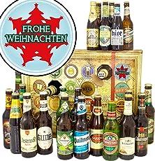 Frohe Weihnachten Tannenbaum | Bieradventskalender 2018 mit Bieren der Welt & D