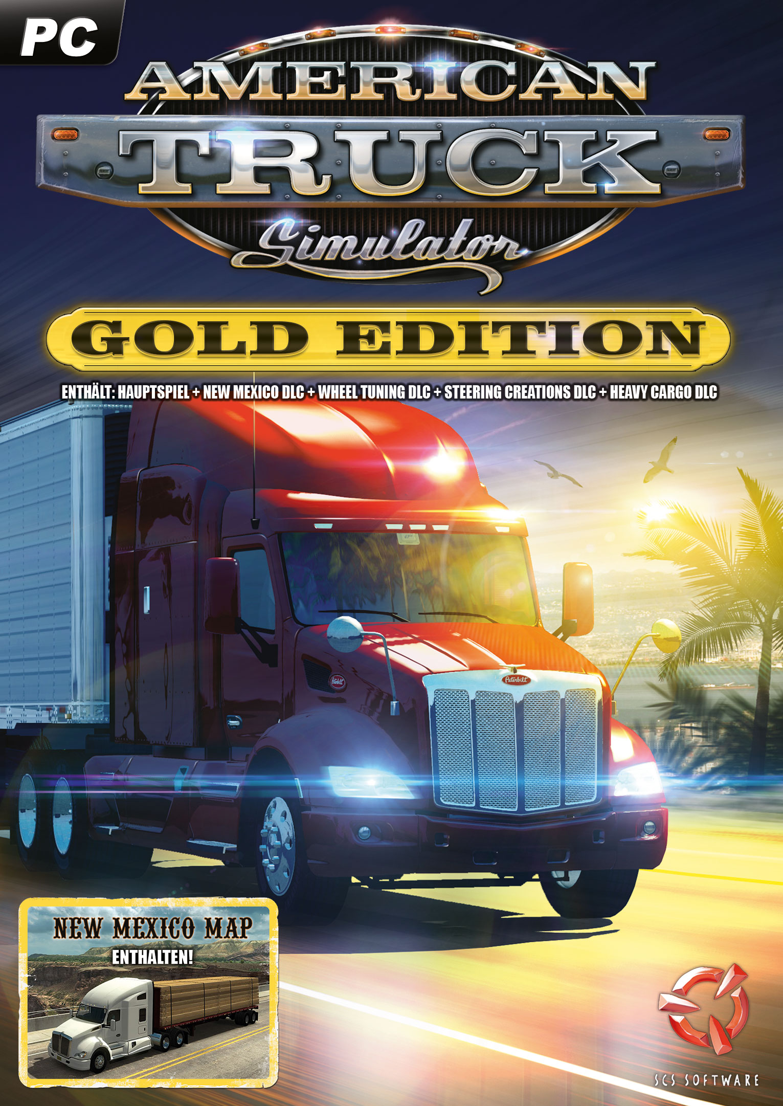 American Truck Simulator: Gold-Edition [PC Code - Steam]
