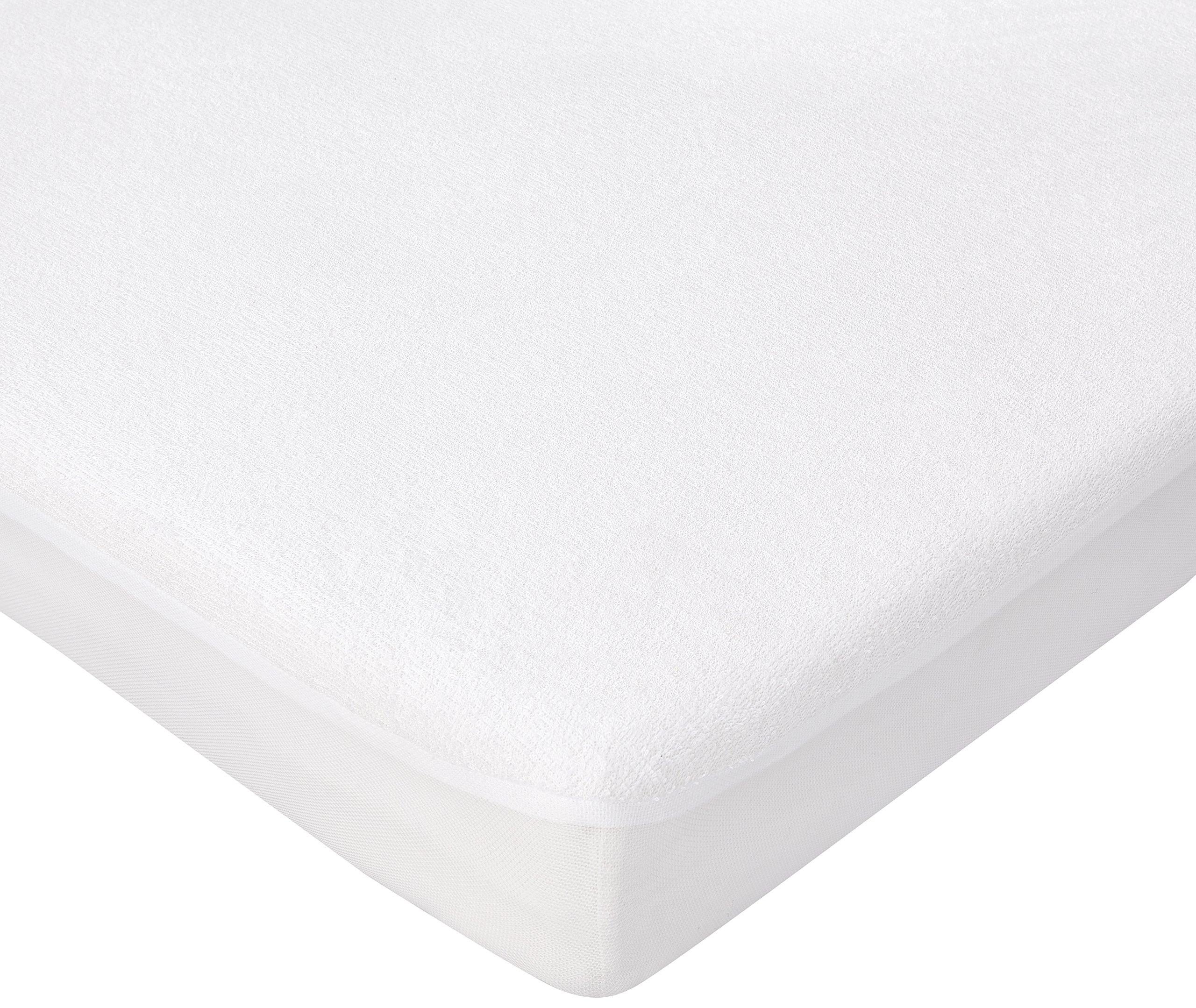 Tre chili sette Coprimaterasso per materasso per lettino Bianco