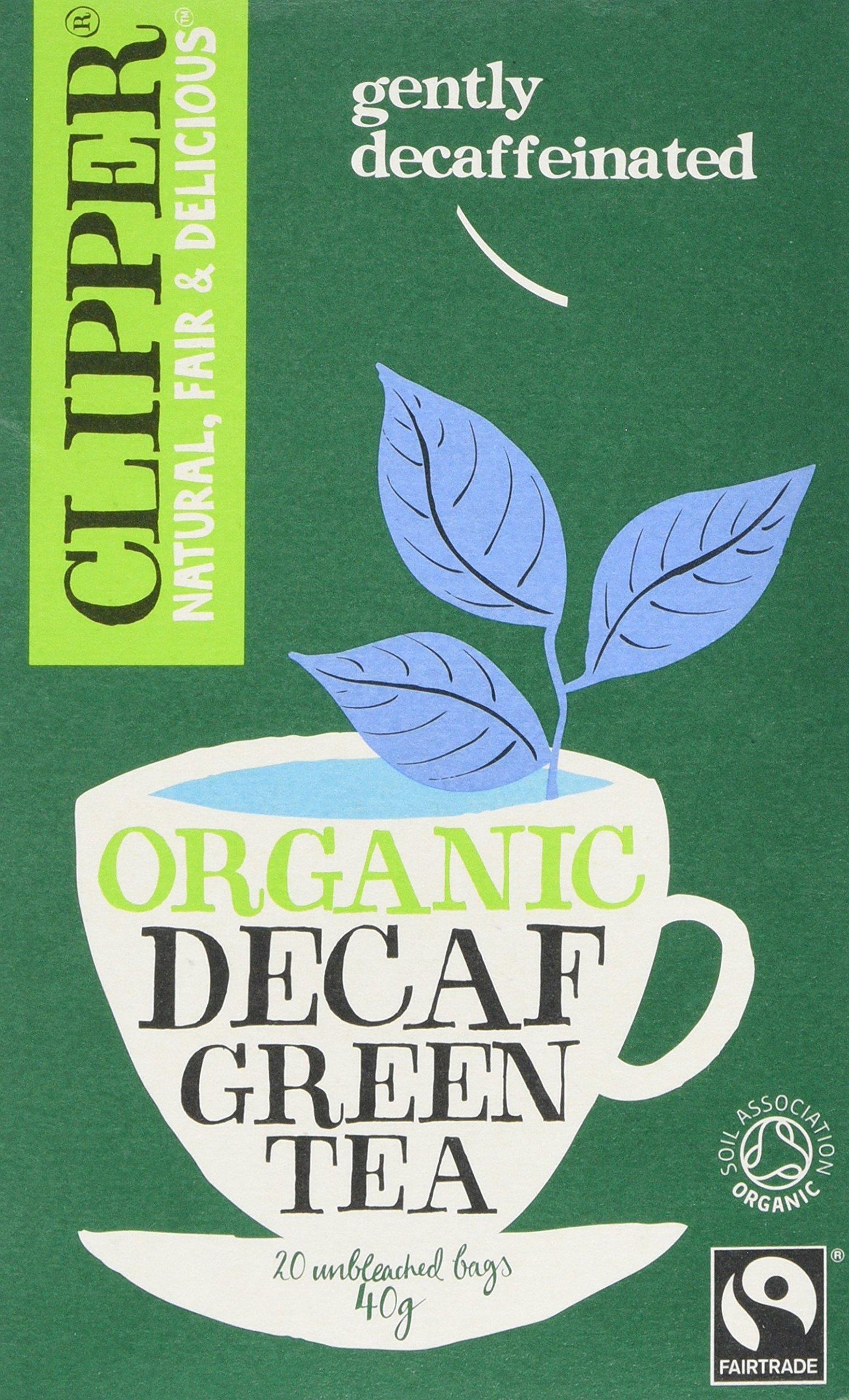 Clipper organic fairtrade green tea bundle (fairtrade, soil association) (green tea) (6 packs of 20 bags) (120 bags) (brews in 1-3 minutes)