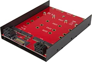 Startechcom 35s24m2ngff 4x M 2 Sata Mounting Adapter Computers Accessories