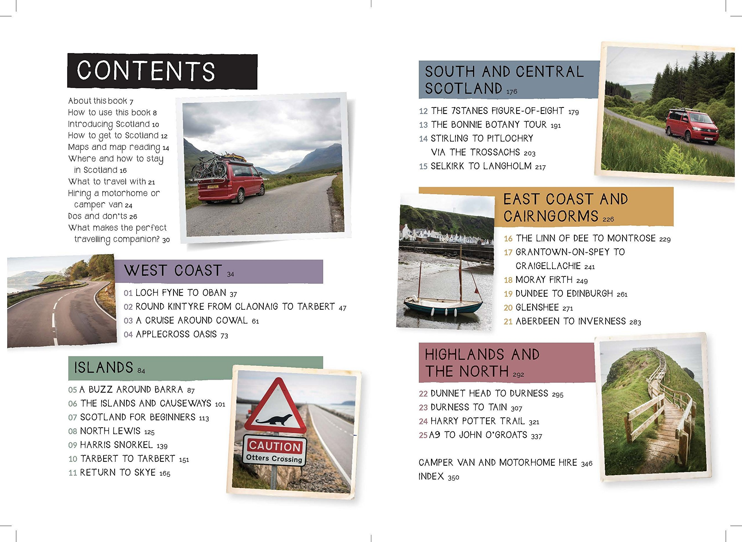 Take the Slow Road: Scotland: Inspirational Journeys Round the Highlands, Lowlands and Islands of Scotland by Camper Van…
