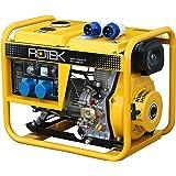 Rotek Diesel Stromerzeuger GD4-1A-6000-EBZ (6,0 kVA / 5,0kW 230V 50Hz 1-phasig)