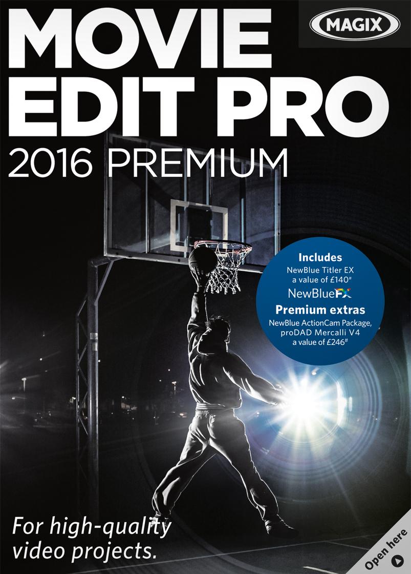 Price comparison product image MAGIX Movie Edit Pro 2016 Premium [Download]