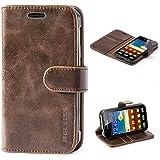 Mulbess Handyhülle für Samsung Galaxy XCover 3 Hülle Leder, Samsung Galaxy XCover 3 Handy Hüllen, Vintage Flip…