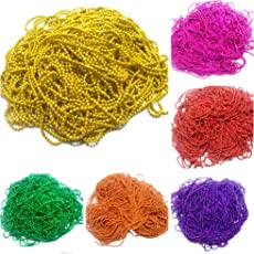 Am Ball Chains Shiny & Glittery - Combo Of 6 Colours For Jewellery Making/Designing & Craft Work ,2 Mtr In Each Color