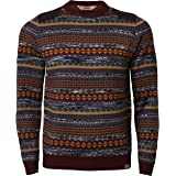 Tokyo Laundry Mens Jumper IA 2695 Aztec Pullover Knitted Sweater Knitwear