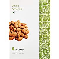 Amazon Brand - Solimo Almonds, 1kg