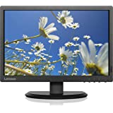 Lenovo Thinkvision E2054 19.5 Inch LED Backlit LCD Monitor - HD, IPS Panel with VGA, Black