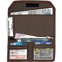DAHSHA Two Wheeler/Car Document Holder, Vehicle Document Storage Wallet for Registration & Insurance Card– – Brown (25.5…