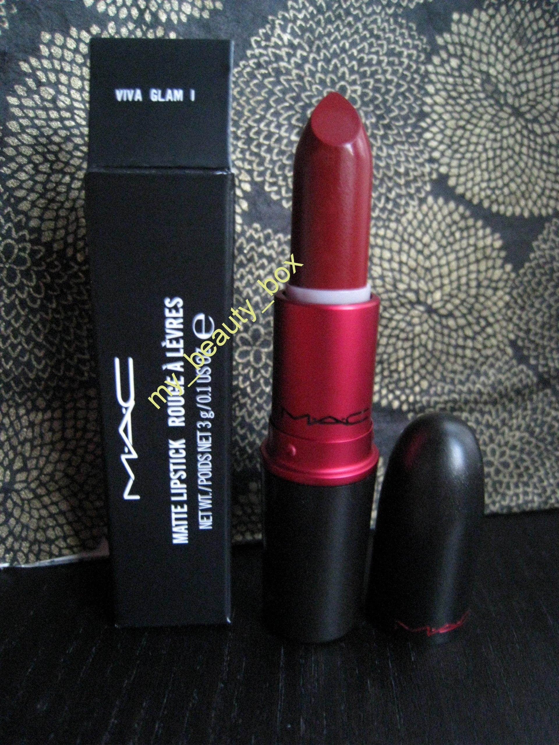 MAC Matte Lipstick VIVA GLAM I 3g