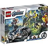 Lego 6289055 Lego Marvel Avengers Movie 4 Lego Marvel Avengers Movie 4 Avengers Speeder Bike Aanval - 76142, Multicolor